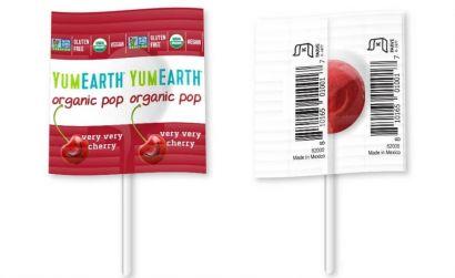 Леденцы на палочке органические YumEarth Ассорти, упаковка 6 гx100 шт - Фото 2