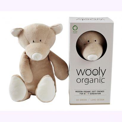 Мягкая игрушка Wooly Organic — Медвежонок Тедди, большой, 29 см - Фото 2