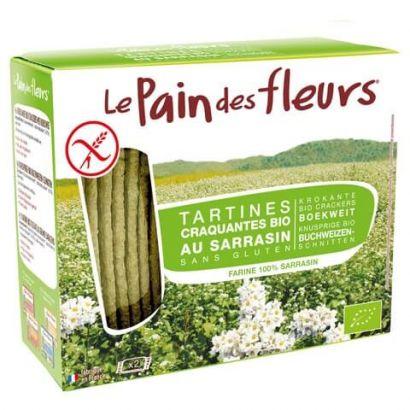 Хлебцы из гречки Le Pain des Fleurs без глютена органические 150 г