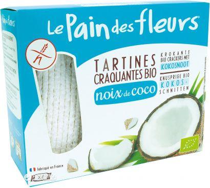 Хлебцы с кокосом Le Pain des Fleurs без глютена 150 г