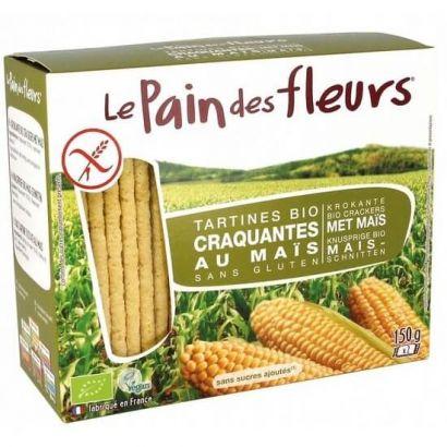 Хлебцы из кукурузы Le Pain des Fleurs без глютена 150 г
