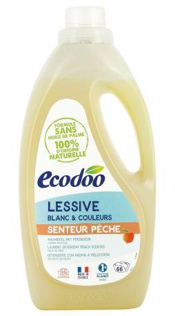 Жидкое средство для стирки Ecodoo Персик экологическое 2 л