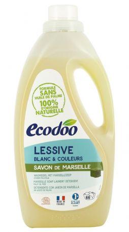 Жидкое средство для стирки Ecodoo Марсельское мыло экологическое 2 л