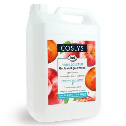 Мыло для рук Coslys мягкое с органическим яблоком 5 л