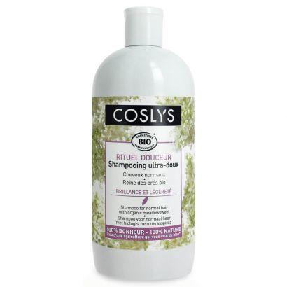 Шампунь Coslys с органической таволгой для нормальных волос 500 мл