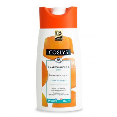 Шампунь для волос и тела Coslys с ароматом грейпфрута без мыла 250 мл