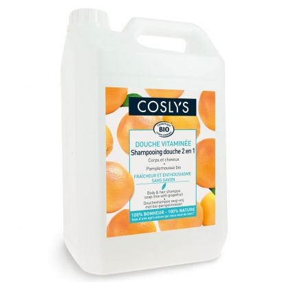 Шампунь для волос и тела Coslys с ароматом грейпфрута без мыла 5 л