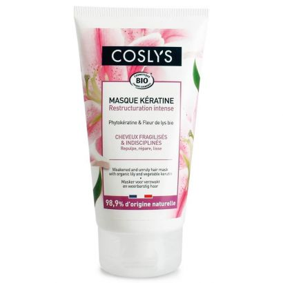 Маска Coslys для ослабленных и непослушных волос с органической лилией и кератином 150 мл