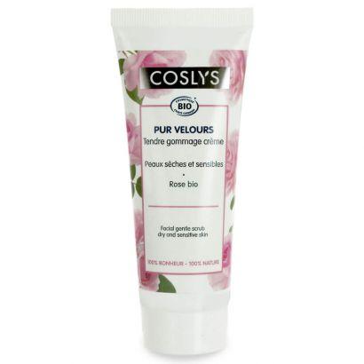 Скраб для лица Coslys мягкий для сухой и чувствительной кожи 75 мл