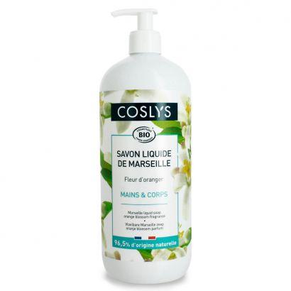 Мыло для рук Coslys Marseille жидкое с ароматом апельсина 1 л