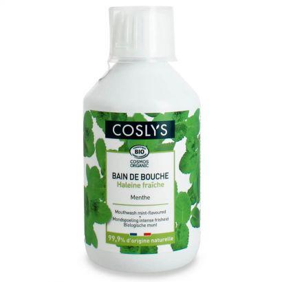 Ополаскиватель для полости рта Coslys для комплексной защиты и свежести с органической мятой 250 мл