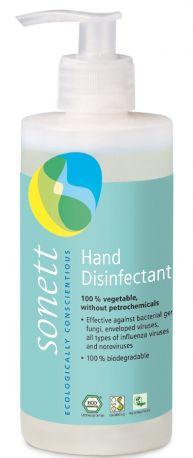 Средство для дезинфекции рук Sonett, органическое 300 мл