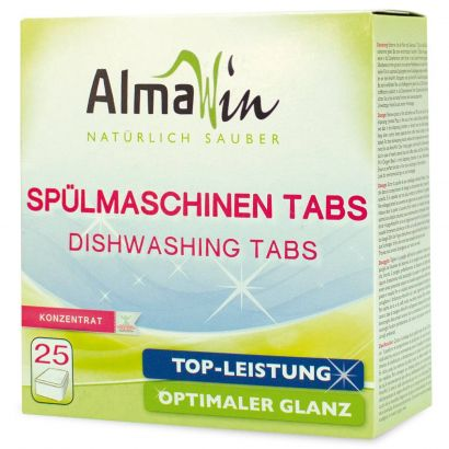 Таблетки AlmaWin для посудомоечных машин 25 шт
