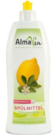 Средство для мытья посуды AlmaWin с лемонграссом 500 мл