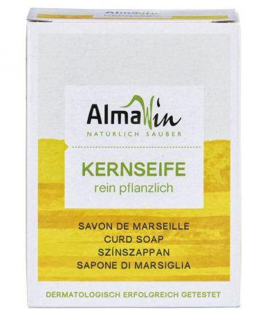Натуральное марсельское мыло AlmaWin универсальное 100 г - Фото 1