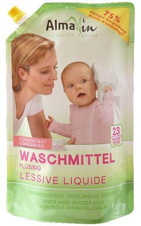 Жидкое средство для стирки AlmaWin органическое эко-упаковка 1.5 л