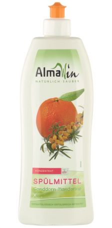 Средство для мытья посуды AlmaWin с мандарином 500 мл