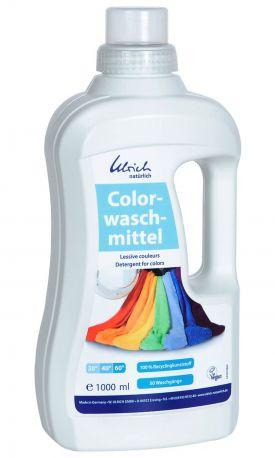 Жидкое средство для стирки Ulrich Naturlich Цветные ткани органическое 1 л
