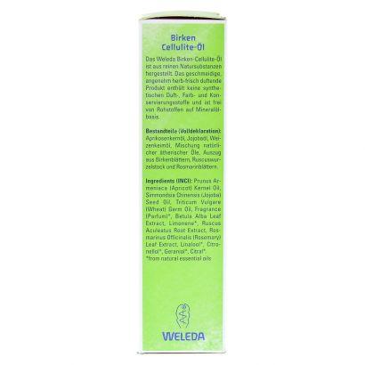Березовое масло от целлюлита Weleda Birken Cellulite-Ol, 100 мл - Фото 2