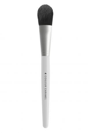Кисть Couleur Caramel №4 для тональной основы под макияж