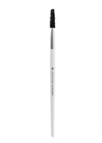 Спиральная щеточка Couleur Caramel №13 для бровей и ресниц