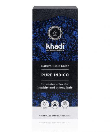 Краска для волос Khadi Чистый Индиго «Чёрный» (Pure Indigo), 100 г - Фото 1