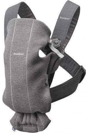 Рюкзак Baby Bjorn Carrier Mini Dark Grey серый - Фото 1
