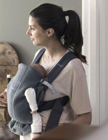 Рюкзак Baby Bjorn Carrier Mini Dark Grey серый - Фото 2