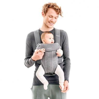 Рюкзак Baby Bjorn Carrier Mini Dark Grey серый - Фото 3