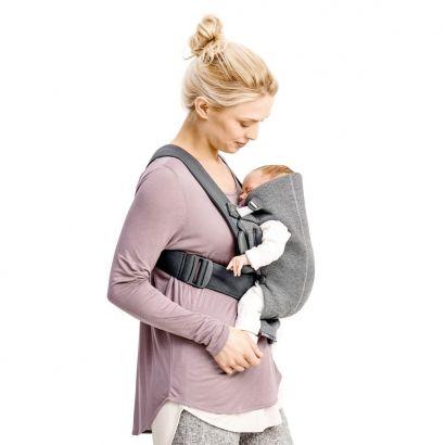 Рюкзак Baby Bjorn Carrier Mini Dark Grey серый - Фото 4