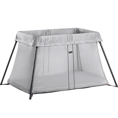 Складной манеж-кровать BabyBjorn Travel Crib Light Серебристый - Фото 1