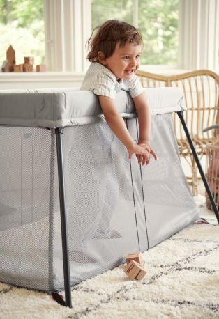 Складной манеж-кровать BabyBjorn Travel Crib Light Серебристый - Фото 3