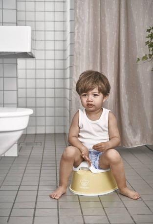 Горшок Смарт BabyBjorn Smart Potty Бледно-желтый/Белый - Фото 2