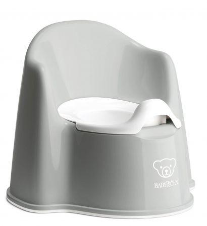 Горшок-кресло BabyBjorn Potty Chair Серый/Белый