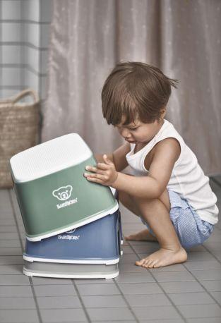 Подставка Baby Bjorn Step Stool Темно-зеленый/Белый - Фото 2