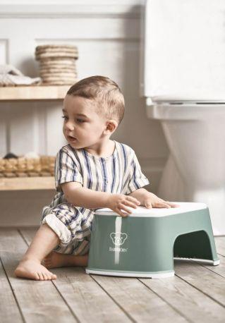 Подставка Baby Bjorn Step Stool Темно-зеленый/Белый - Фото 3