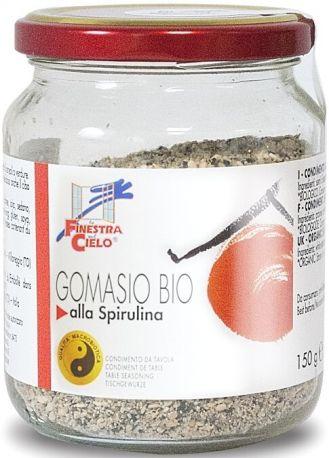 Приправа гомасио La Finestra Sul Cielo со спирулиной органическая 150 г