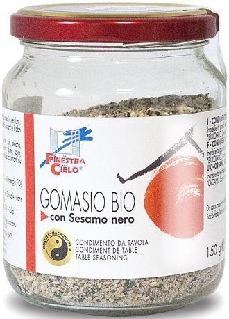 Приправа сухая La Finestra Гомасио с черным сезамом органическая 150 г