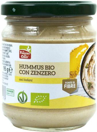 Хумус с имбирем La Finestra органический 195 г