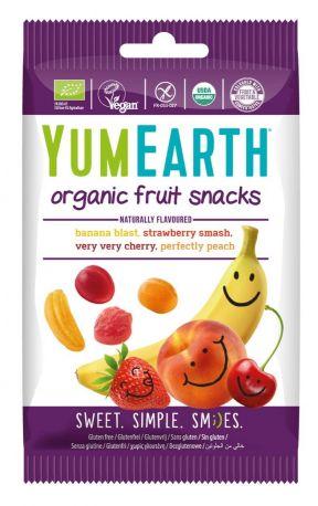 Жевательные конфеты YumEarth фруктовые органические 50 г - Фото 1