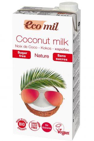 Растительное молоко Ecomil из кокоса без сахара органическое 1 л