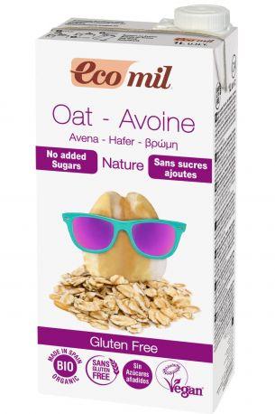 Растительное овсяное молоко Ecomil органическое 1 л