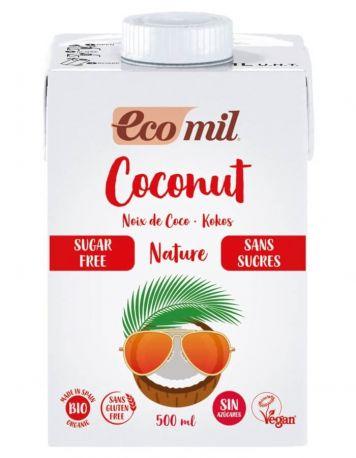 Растительное молоко из кокоса Ecomil без сахара органическое 500 мл