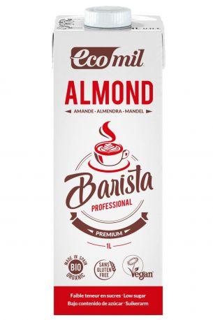 Растительное миндальное молоко Ecomil Бариста органическое 1 л