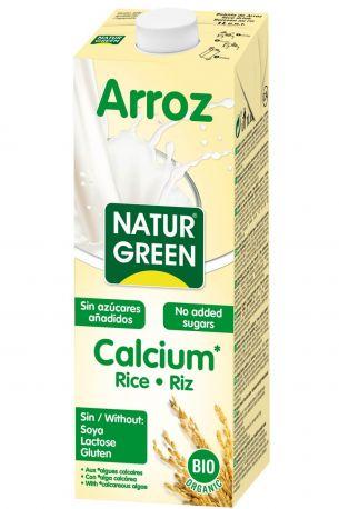 Растительное молоко из риса Ecomil без сахара с морскими водорослями органическое 1 л