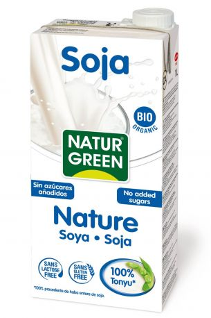 Растительное соевое молоко Ecomil без сахара органическое 1 л