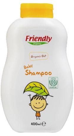 Детский шампунь-гель для купания Friendly Organic, 400 мл