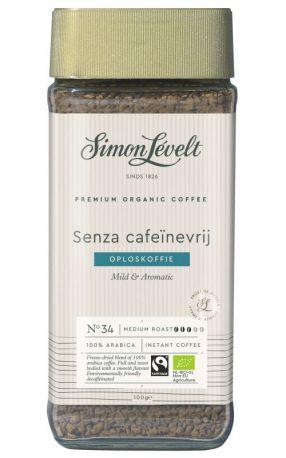 Кофе растворимый без кофеина Simon Levelt Senza органический 100 г