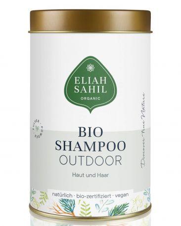 Органический шампунь-порошок Eliah Sahil для волос и тела Outdoor 100 г