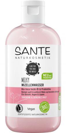 БИО-Вода мицеллярная молочная с Инка Инчи и пробиотиками Sante, 200мл
